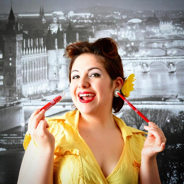 Secret de Pin up: #AnnabelleLipsies et crayons Stay Sharp bouche parfaite en une minute
