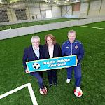 John O'Donohue, Patricia O'Connor & John Devine Dublin Indoor Football...jpg