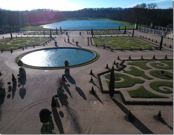 The gardens at Versailles