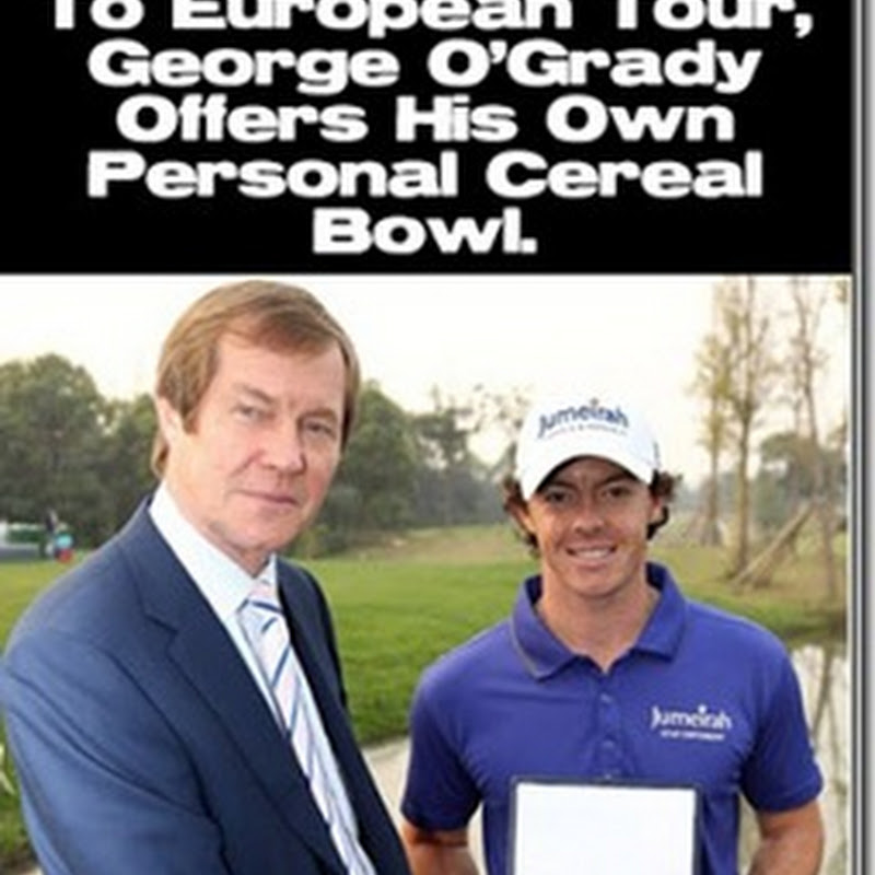 George O'Grady Makes Shock Announcement That European Tour Office Is To Remain In England