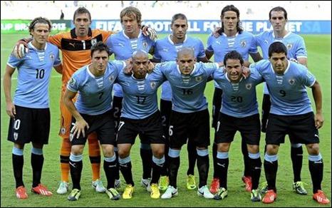 Convoados Selección de Uruguay para Mundial Brasil 2014
