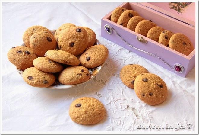Бисквитки с орех и шоколад_9437