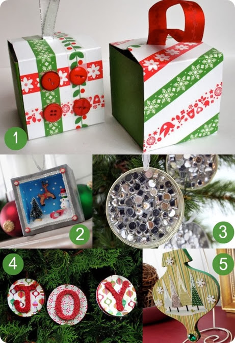 Mod Podge Ornament roundup
