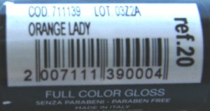 Shaka Full Color Gloss Orange Lady