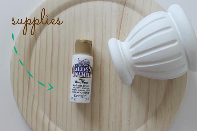 diy cake platter tutorial #decoart #spon