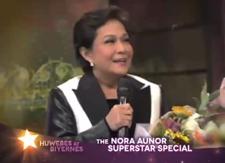 Nora Aunor in Sharon Kasama Mo, Kapatid