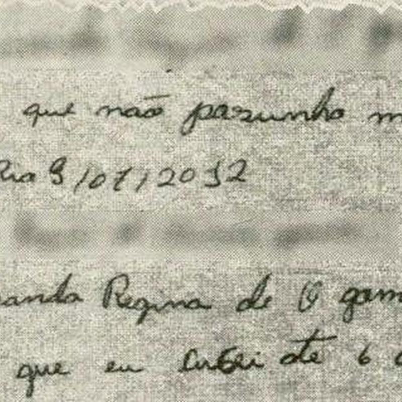 As cartas de duas candidatas do Rio tentando comprovar que são alfabetizadas