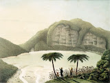 Kawah Putih, Gn Patuha by Franz Wilhelm Junghuhn (1856)