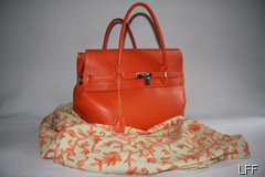 Pahmina and pocketbook orange