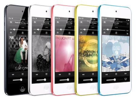 berapa harga ipodd touch 5 terbaru?, spesifikasi lengkap dan gambar ipod touch 5th edition, gadget multimedia player canggih