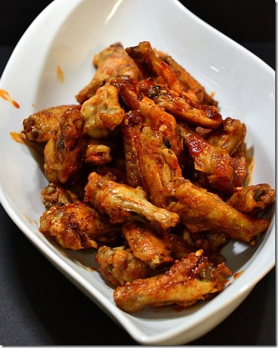 Baked Hot Wings by MrsMamaHen