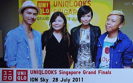 UNIQLO  UNILOOKS SINGAPORE ION SKY Orchard Clarence Lee BeauteRunway Felicia Chin Trey Wong