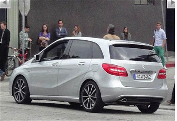 Novo Mercedes Classe B tem traseira revelada