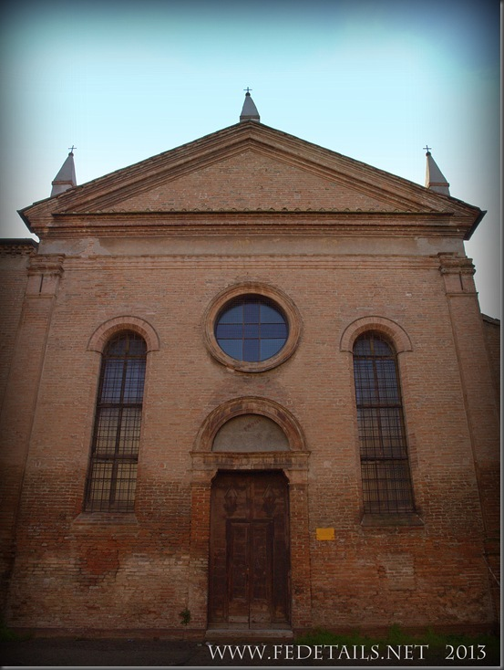 La chiesa di San Matteo, Foto4,Ferrara,Emilia Romagna,Italia - The church of St. Matthew, Photo 4, Ferrara, Emilia Romagna, Italy - Property and Copyrights of FEdetails.net
