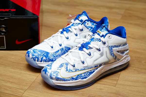 Closer Look at the Recently Released LeBron 11 Low 8220China8221