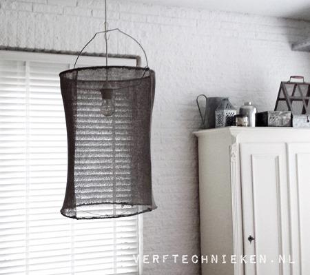 verftechnieken.nl DIY Lamp