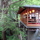 cool tea house at kiyomizu in Kyoto, Kyoto, Japan
