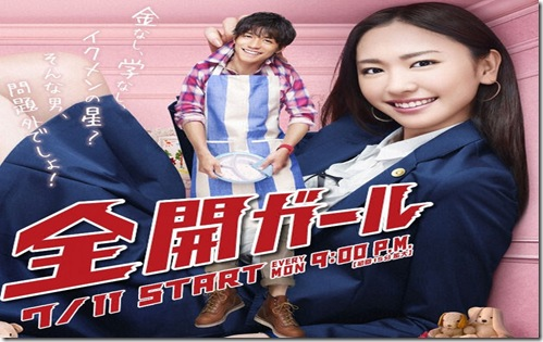 zenkai girl poster