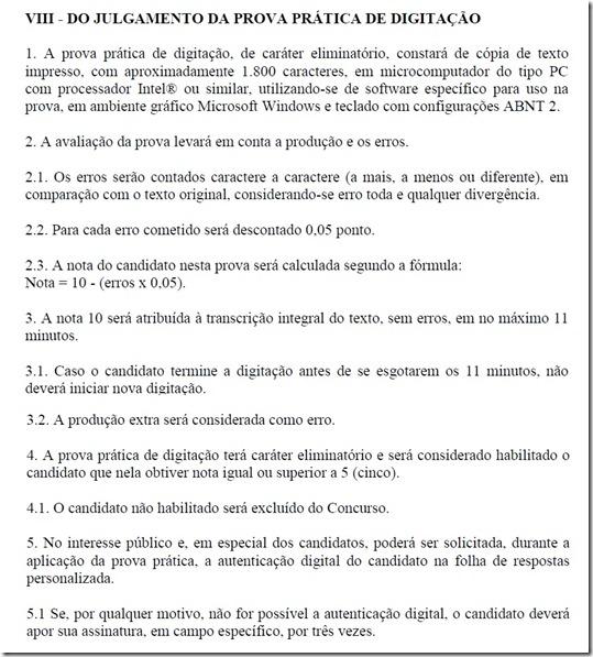 Julgamento digitação - TJSP 3