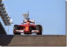 Raikkonen nei test di Abu Dhabi 2014