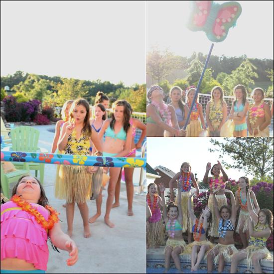 luau pool party