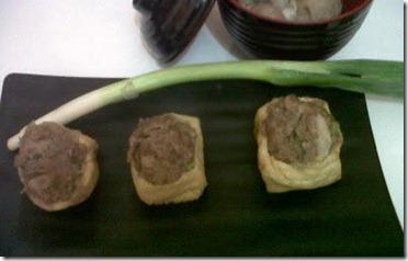 Membuat Bakso Jamur Tahu
