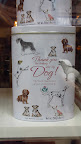 Here's a cute gift item I came across- a souvenir specifically for your pet-sitter- they had kitty ones too!