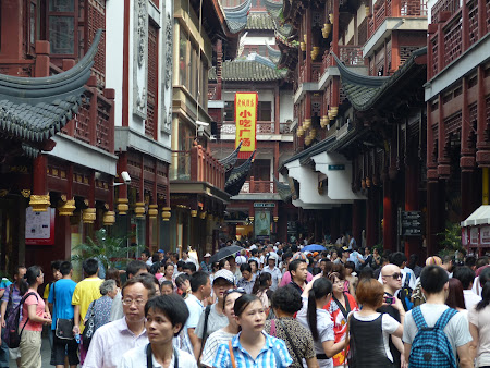 Cumparaturi China: zona comerciala Shanghai