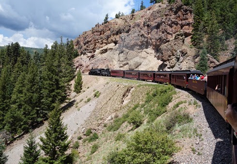 Cumbres and Toltec Scenic Railroad Antonito CO to Chama NM (133)
