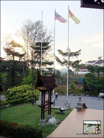 Minangkabau House at Negeri Sembilan
