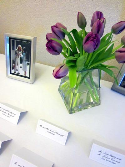 purple tulip wedding flowers | Ideas in Bloom