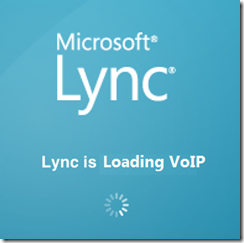 lync is loading voip