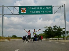 Welcome to Peru, and the easiest border crossing in Latin America.