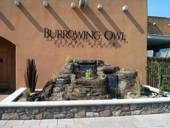 A new water feature at Burrowing Owl adds another touch of elegance