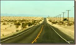 Highway 78 through the desert.