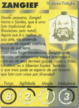 Zangief 2 - Card Street Fighter Zero 2