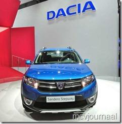 Dacia stand Parijs 2012 15