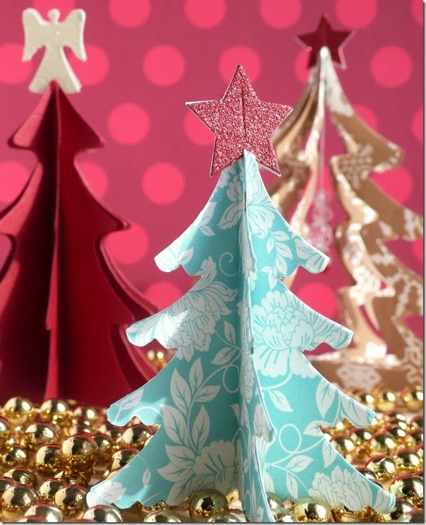 cafe creativo - sizzix big shot - christmas tree - holiday (6)