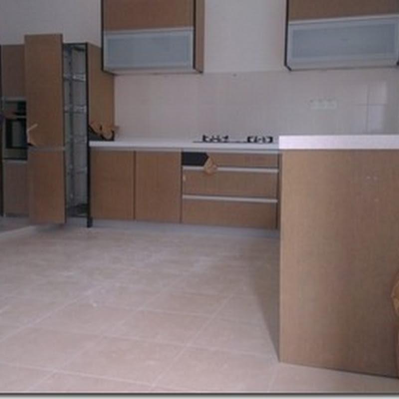 Pening dengan kitchen cabinet baru !