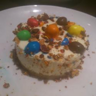 Peanut M&m Cheesecake