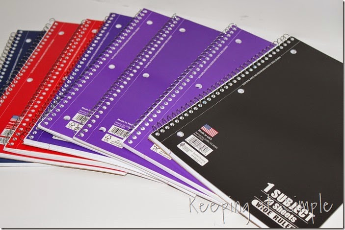 Disney themed notebooks (3)