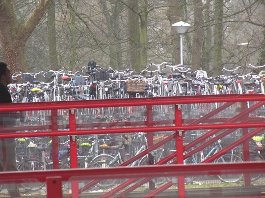 Netherlands bicycle parking