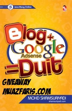 Muaz Faris dan Google Adsense