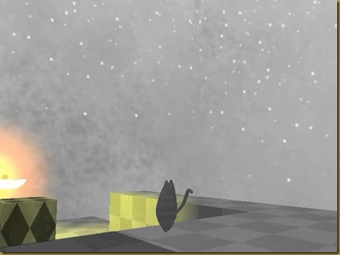カゲハシ ゲーム画面