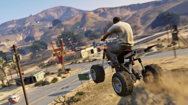 Grand Theft Auto V  - Stunt Jumps Locations Guide 01