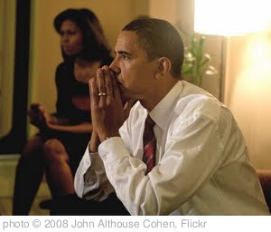 'Barack and Michelle Obama on election night' photo (c) 2008, John Althouse Cohen - license: http://creativecommons.org/licenses/by-sa/2.0/