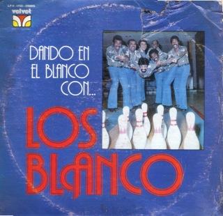 Los Blanco  Dando En El Blanco Con  LP Front