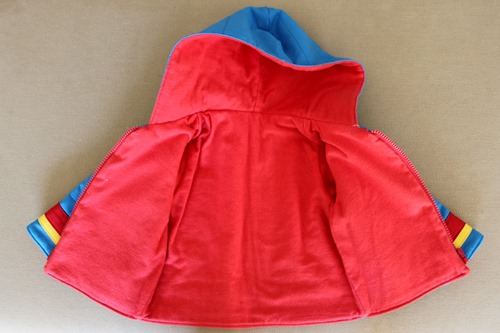 Retro jacket inside