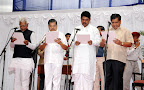 New Ministers Swearing  CM Udasi,V S Acharya,R Ashok,Jagdesh Shettar