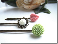 Floral Hair Pins